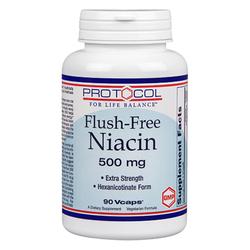 Protocol for Life Balance Flush-Free Niacin 500 mg