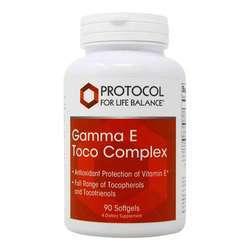 Protocol for Life Balance Gamma Vitamin E Complex