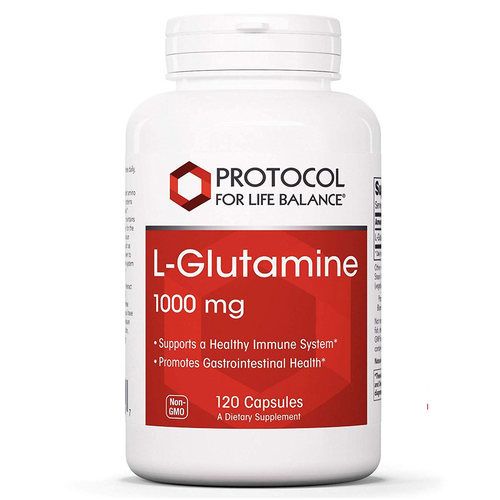 Protocol for Life Balance L-Glutamine  - 1000 mg - 120 Capsules - 113866_front.jpg