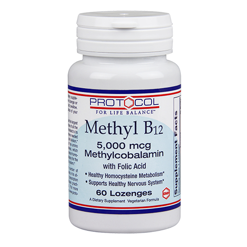 Methyl B12 5,000 mcg with Folic Acid