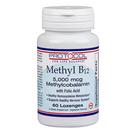 Protocol for Life Balance Methyl B12 5,000 mcg with Folic Acid
