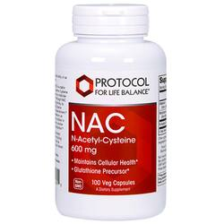 Protocol for Life Balance NAC N-Acetyl Cysteine