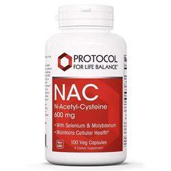 Protocol for Life Balance NAC (N-Acetyl-Cysteine)