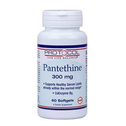Protocol for Life Balance Pantethine