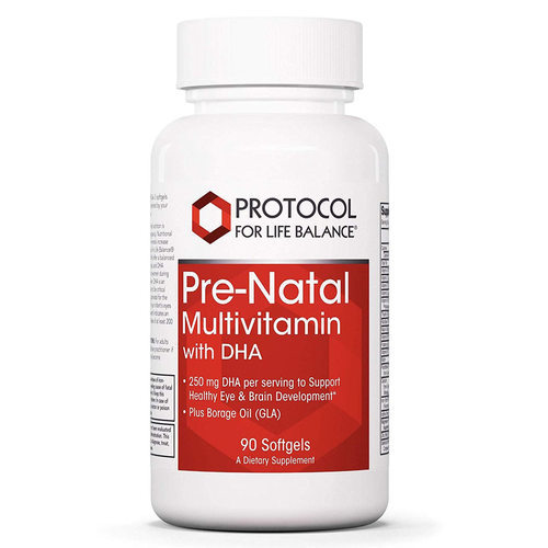 Protocol for Life Balance Pre-Natal Multivitamin with DHA  - 90 Softgels - 113913_front.jpg