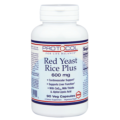 Red Yeast Rice Plus 600 mg