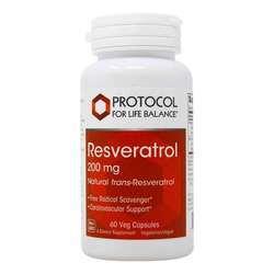 Protocol for Life Balance Resveratrol