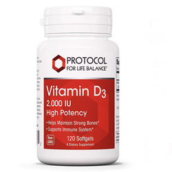 Protocol for Life Balance Vitamin D3 (High Potency)