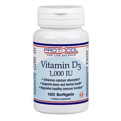 Protocol for Life Balance Vitamin D-3