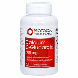 Protocol for Life Balance Calcium D-Glucarate 500 mg