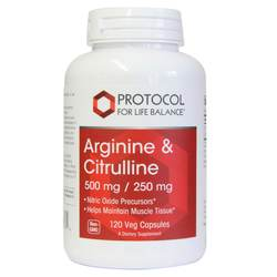 Protocol for Life Balance Arginine and Citrulline