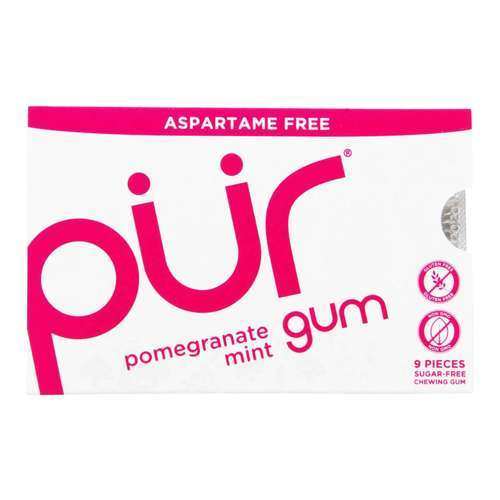 Pur Gum Pomegranate Mint - 9 Pieces - 67438_front2020.jpg