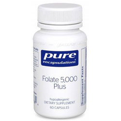 Pure Encapsulations Folate 5-000 Plus