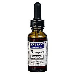 Pure Encapsulations B12 Liquid 1-000 mcg