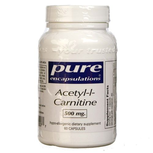 Acetyl-L-Carnitine 500 mg