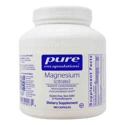 Pure Encapsulations Magnesium Citrate