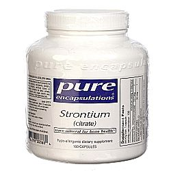 Pure Encapsulations Strontium Citrate