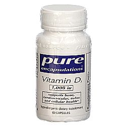 Pure Encapsulations Vitamin D3 1000 IU