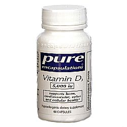 Pure Encapsulations Vitamin D3 5,000 IU