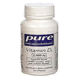 Pure Encapsulations Vitamin D3 5000 IU
