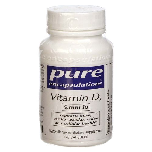 Pure Encapsulations Vitamin D3 5000 IU  - 120 VCapsules - 20130405_109.jpg