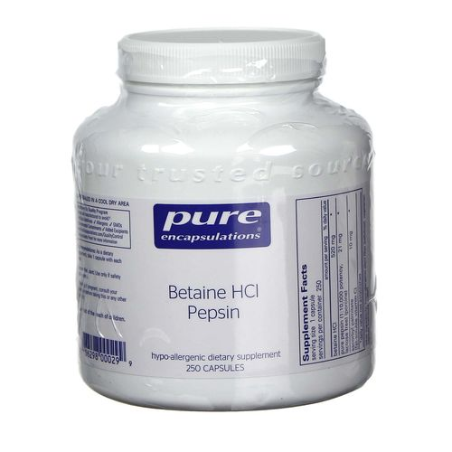 Betaine HCl Pepsin