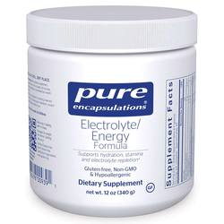 Pure Encapsulations Electrolyte Energy Formula