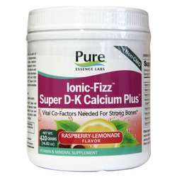 Pure Essence Labs Ionic-Fizz Super D-K Calcium Plus