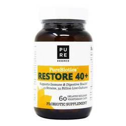 Pure Essence Labs Purebiotics Restore 40+