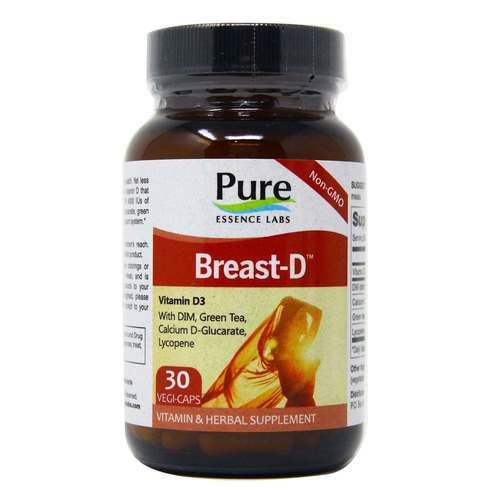 Pure Essence Labs Breast-D  - 30 Caps - 23603_front2019.jpg