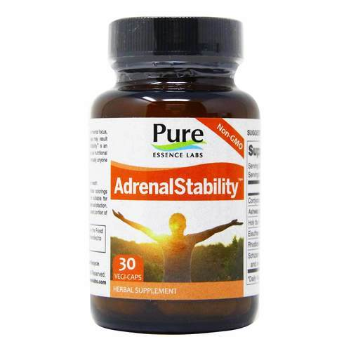 Pure Essence Labs AdrenalStability - 30 Vegi-Capsules - 50365_front2019.jpg
