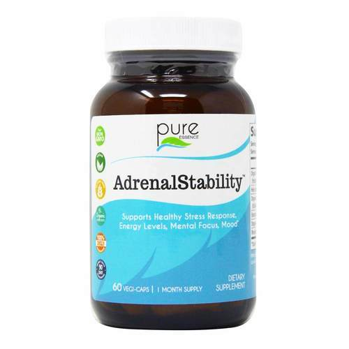 Pure Essence Labs AdrenalStability - 60 Vegi-Capsules - 50366_front2019.jpg