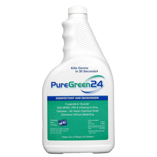 PureGreen24 - All Purpose Natural Environmental Cleaner - Eco Friendly