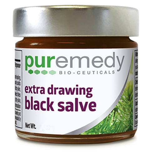 Extra Drawing Black Salve