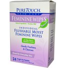 Puretouch Skin Care Feminine Wipes