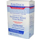 Puretouch Skin Care Medicated Tush Wipes