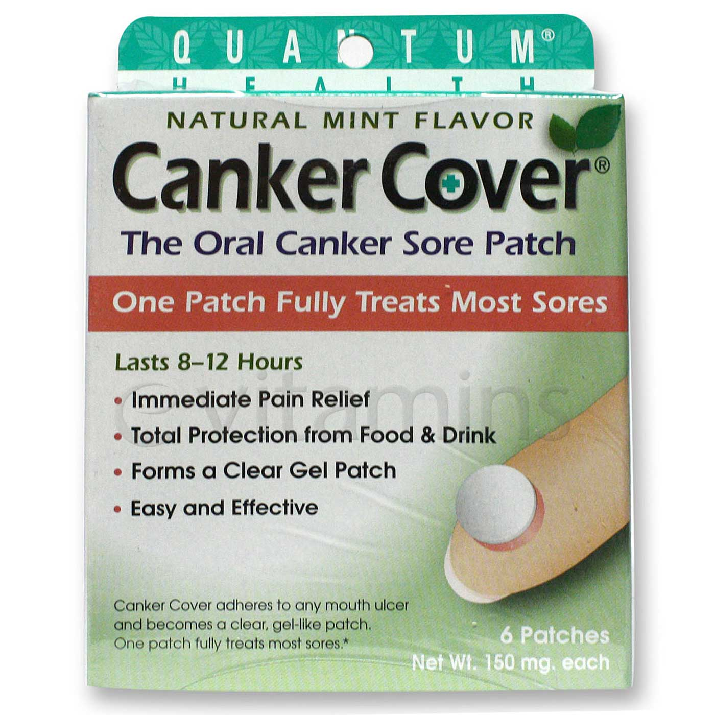 Quantum Canker Cover - 6 Patches