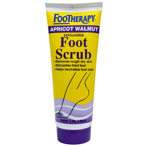 Apricot  Walnut Foot Scrub