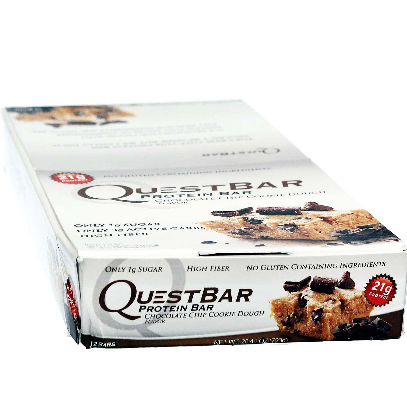 Quest nutrition quest bar chocolate chip cookie dough for Muscle food quest bar