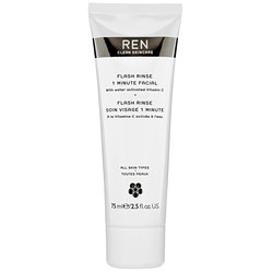 REN Clean Skincare Innovation Flash Rinse 1 Minute Facial