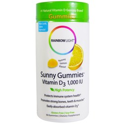 Rainbow Light Vitamin D 1,000 IU Sunny Gummies