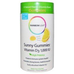 Rainbow Light Sunny Gummies Vitamin D3