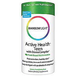 Rainbow Light Active Health Teen Multivitamin