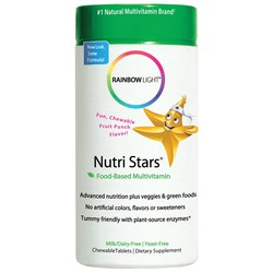 Rainbow Light Nutri-Stars Children's Multichew Fruit Blast