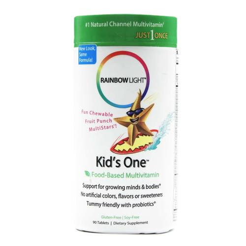 Kids One Chewable Multivitamin and Mineral