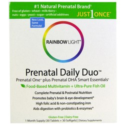 Rainbow Light Prenatal Daily Duo