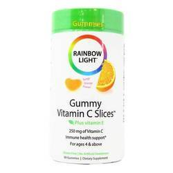 Rainbow Light Gummy Vitamin C Slices