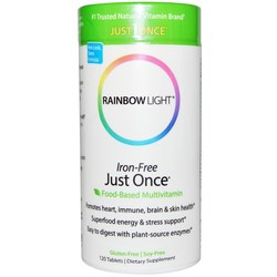 Rainbow Light Just Once Iron-Free Multiple Vitamins