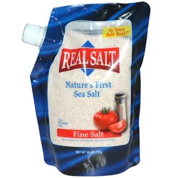 Real Salt Nature's First Sea Salt