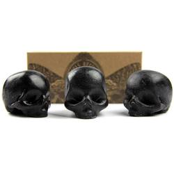 Rebels Refinery Black Organic Skull Soap